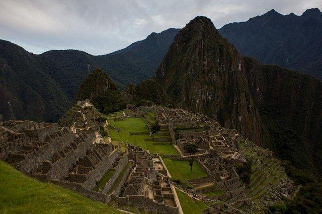 primera imagen de Machu Picchu