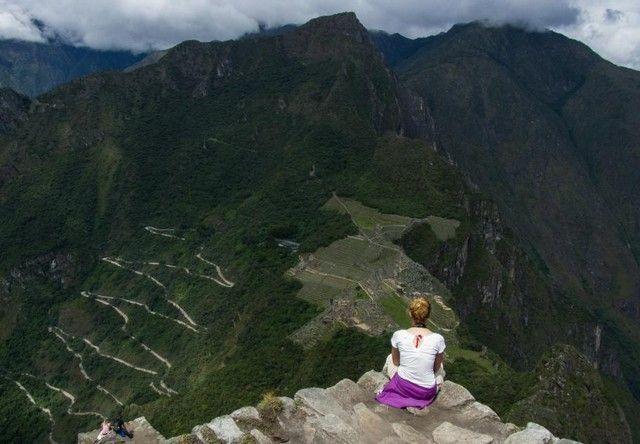 vistas desde huayna pichhu peru