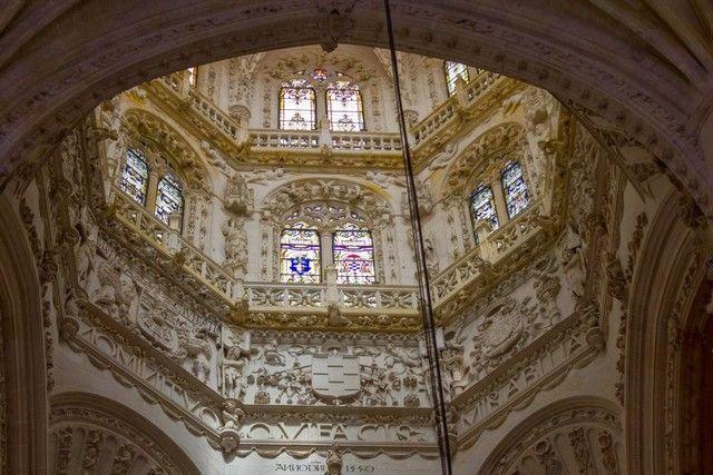 interior de la catedral de Burgos 2