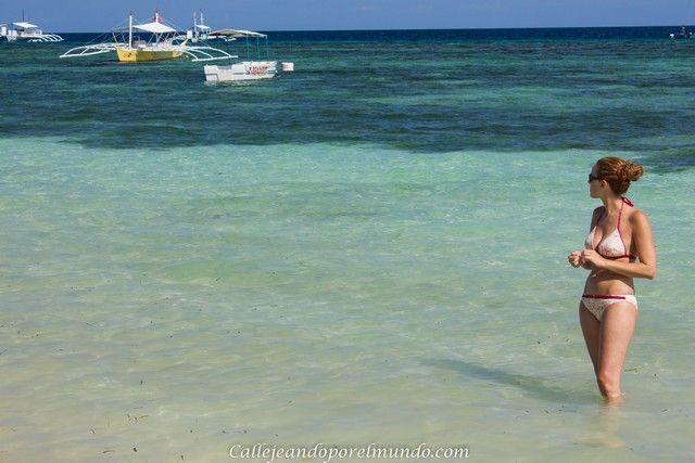 playa de Alona filipinas panglao