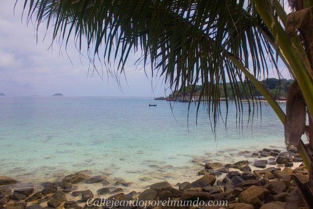 camino a rainforest beach perhentian kecil malasia