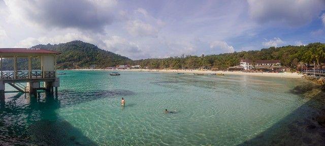 panoramica long beach perhentian kecil