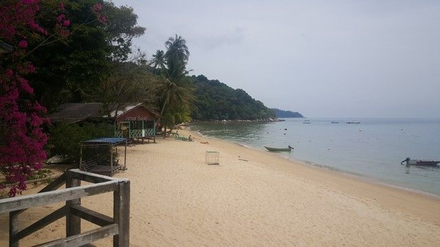 petani beach perhentian kecil malasia
