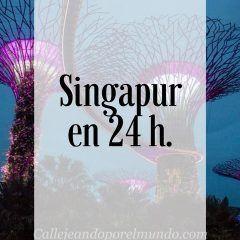 Singapur en 24 horas