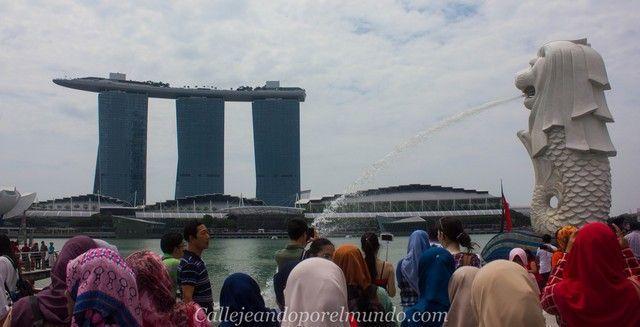 singapur-en-24-horas-merlion-park