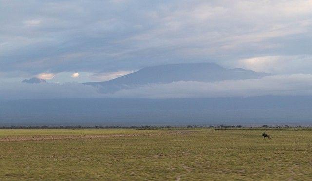 kilimanjaro desde el parque nacional amboseli kenia