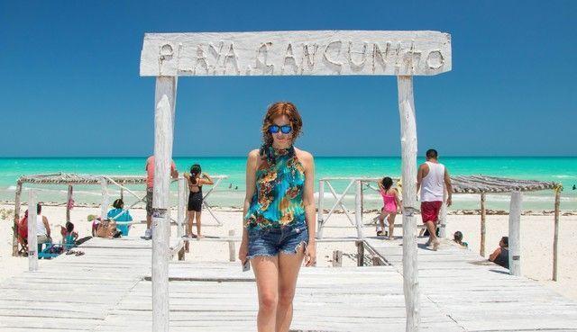 playa cancunito rio lagartos yucatan