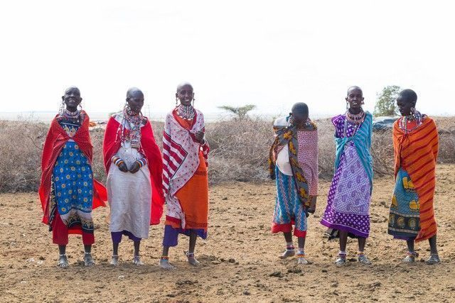 tribu masai en amboseli kenia (1)