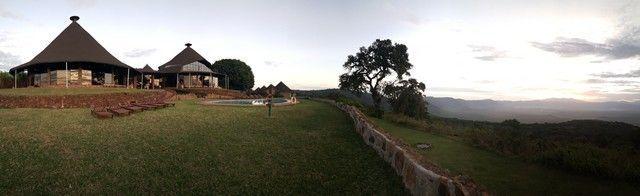 Panorámica Ngorongoro Sopa Lodge