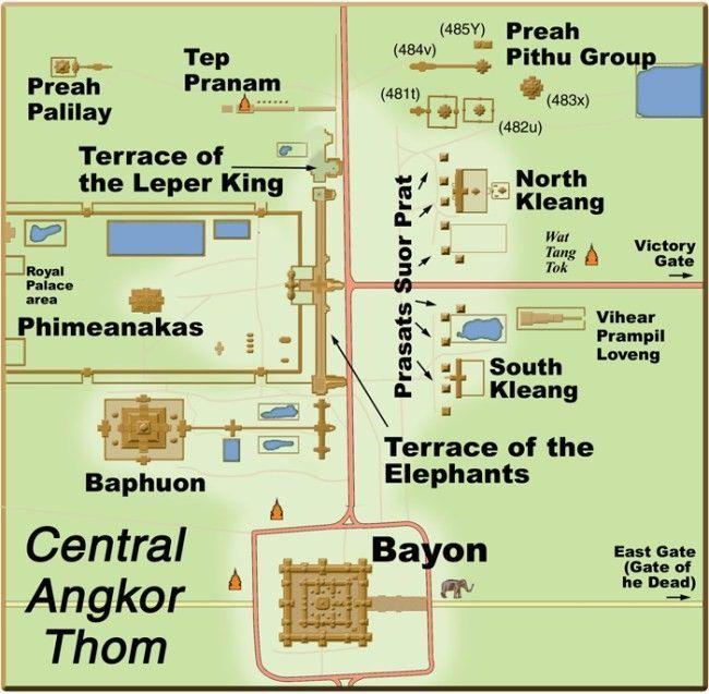 mapa angkor thom