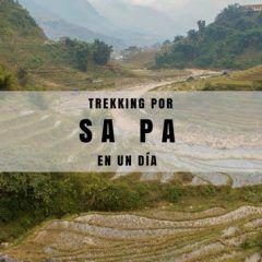 Sapa, un día de trekking entre arrozales