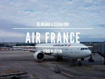 Volando a Japón con Air France