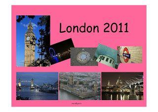 Mis mapas de Londres.