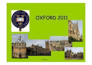 Mis mapas de Oxford