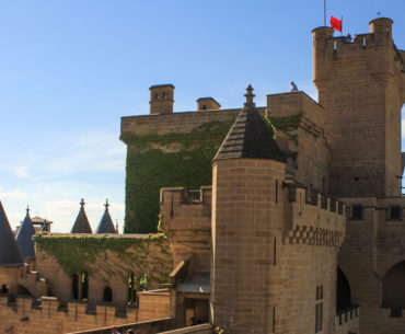 castillo de olite portada
