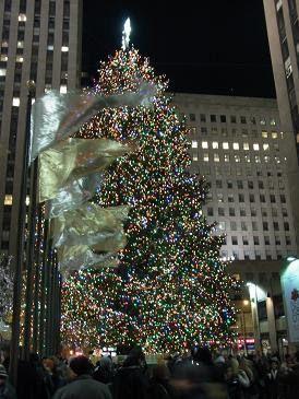 Llega la Navidad a Nueva York.