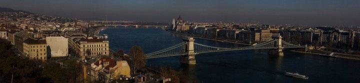 Vistas de Budapest desde Buda
