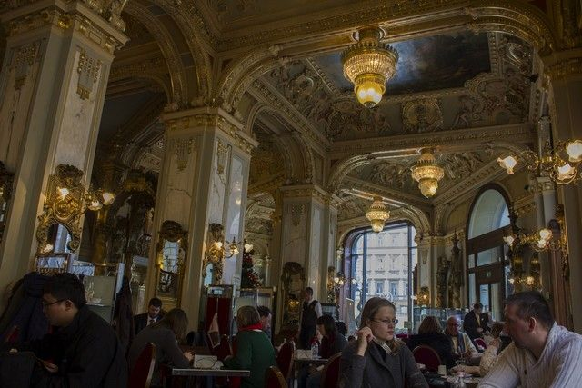 cafe new york budapest interior