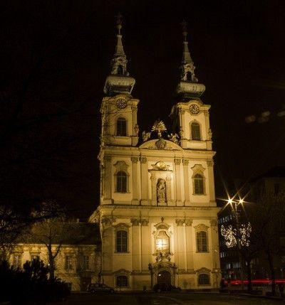 iglesia de santa ana budapest