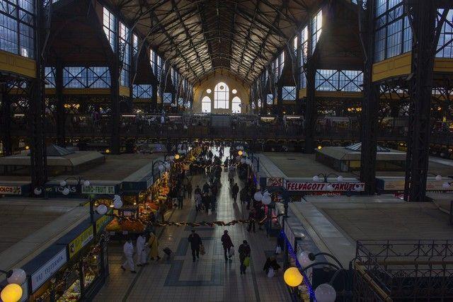 interior mercado de budapest
