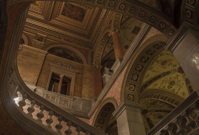 interior opera budapest