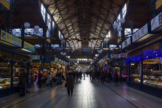 mercado de budapest interior