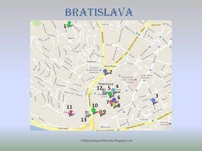 Mis planos de Bratislava