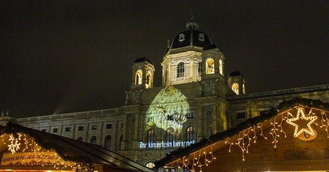 Maria Theresien Platz mercadillo navidad 2