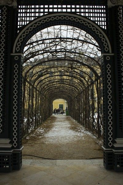 Palacio Schönbrunn detalles Navidad Viena