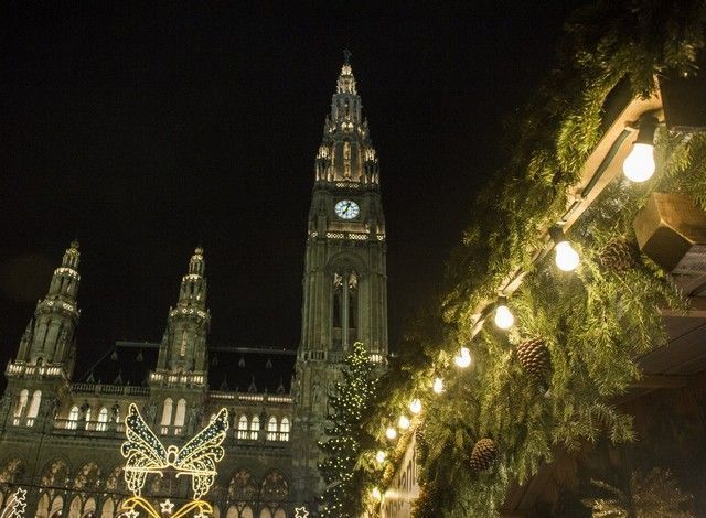 Rathausplazt mercadillo navideño