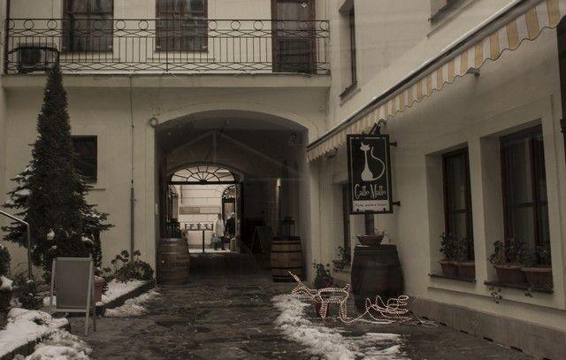 callejones de bratislava navidad