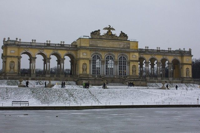 glorieta del Palacio Schönbrunn Viena Navidad