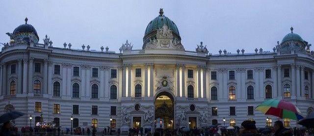 palacio de Hofburg viena navidad 2