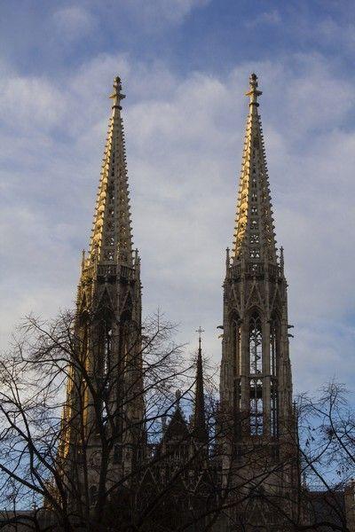 Iglesia Votiva Viena Exterior