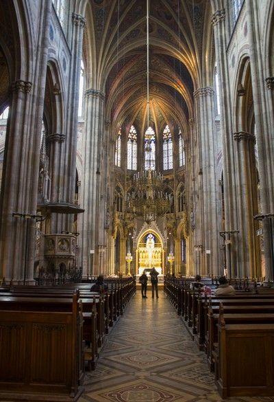 Iglesia Votiva Viena interior