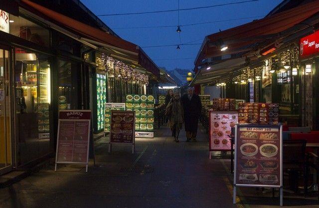 Naschmarkt viena navidad 2