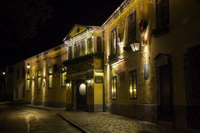 calles de Grinzing Viena Navidad