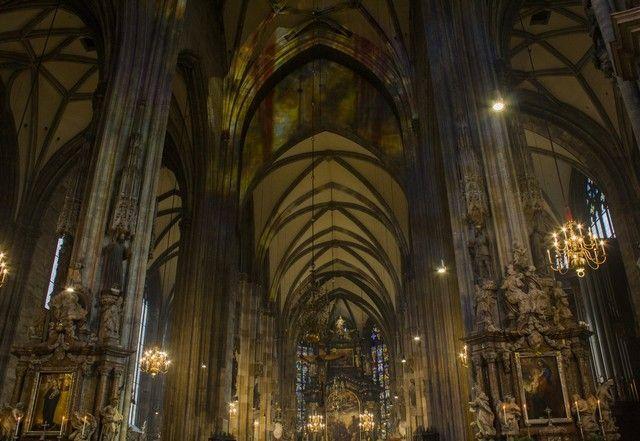 catedral de viena interior