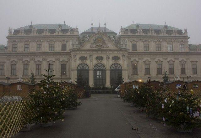 palacio de belvedere navidad viena