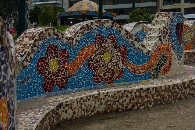bancos parque del amor miraflores peru lima