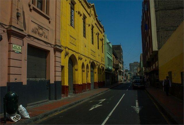 calles de lima peru