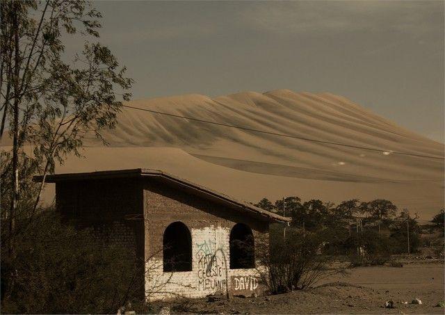 desierto de huacachina peru