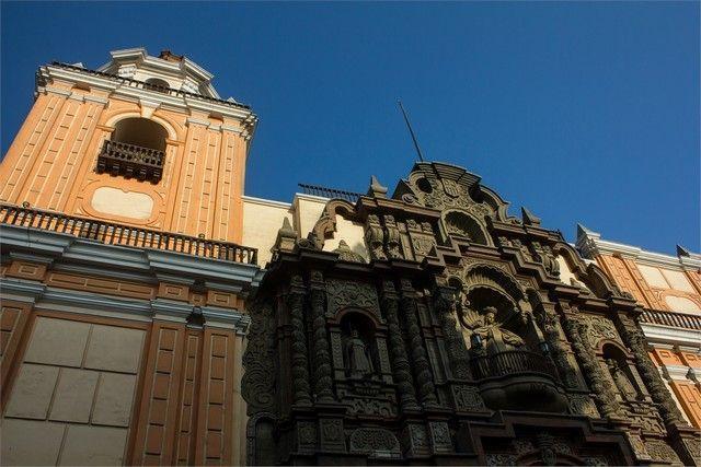 iglesia de la merced lima peru