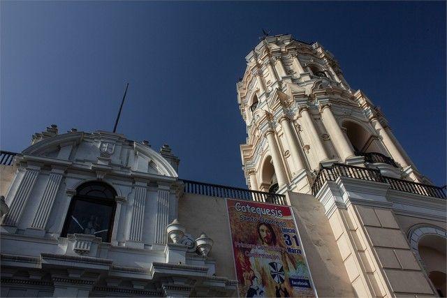 iglesia de santo domingo lima peru exterior