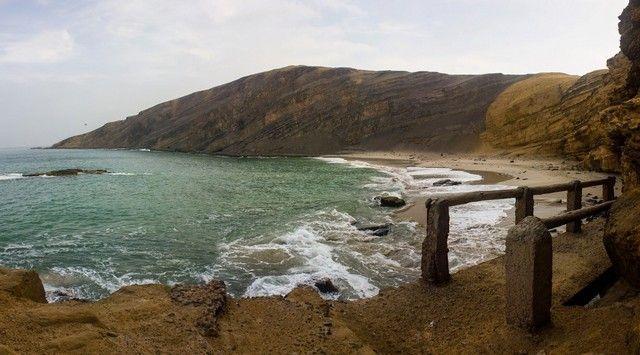la mina reserva natural de paracas peru