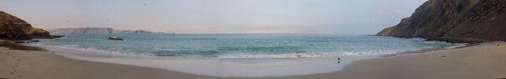 playa de la mina reserva paracas peru