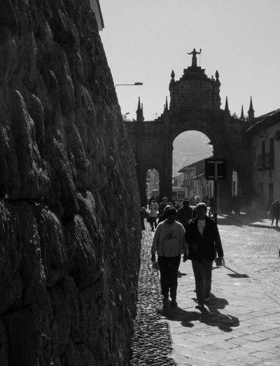 calles de cuzco peru