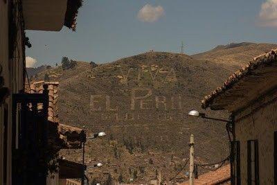 cartel Viva El Peru Cuzco