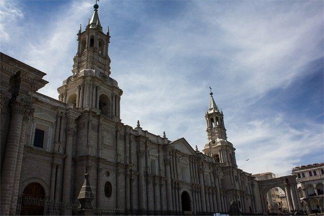 catedral de arequipa Peru