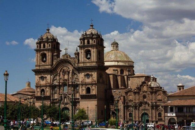 catedral de cuzco plaza de armas peru